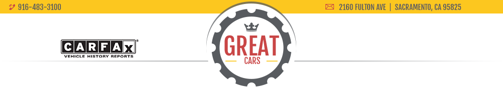Great Cars - Sacramento, CA