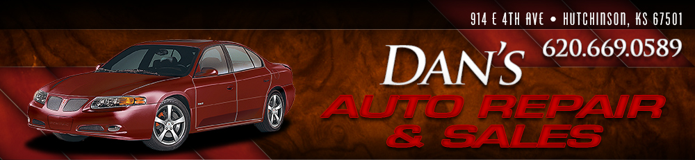 DAN'S AUTO REPAIR & SALES INC - Hutchinson, KS