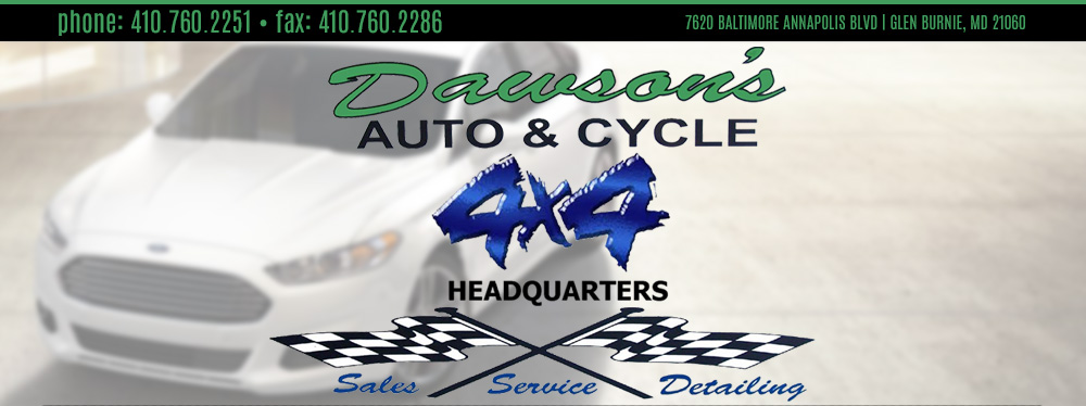 Dawsons Auto & Cycle - GLEN BURNIE, MD