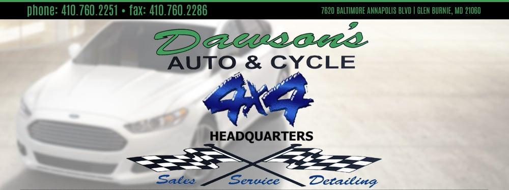 Dawsons Auto & Cycle - GLEN BURNIE, MD