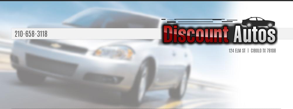 DISCOUNT AUTOS - Cibolo, TX