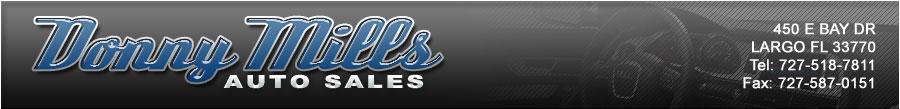 DONNY MILLS AUTO SALES - Largo, FL