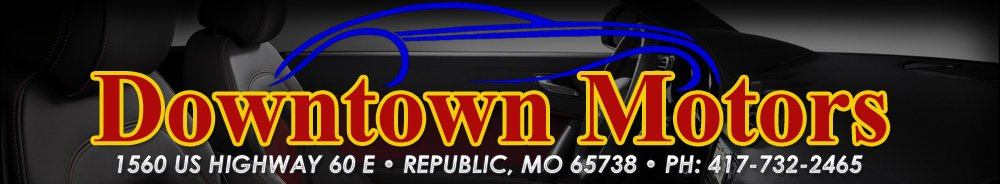 downtown motors used cars republic mo dealer