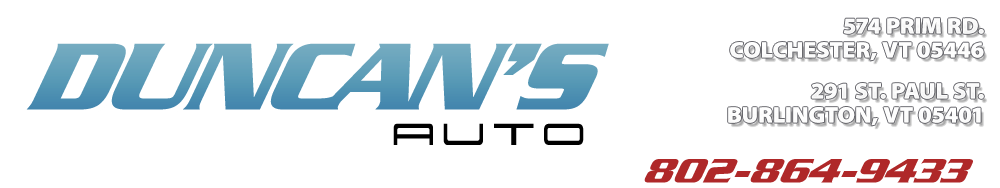 DUNCAN'S AUTO SVC - Colchester, VT