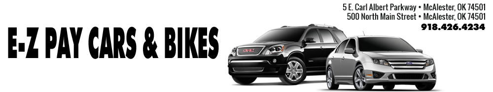E-Z PAY USED CARS & BIKES - Mcalester, OK