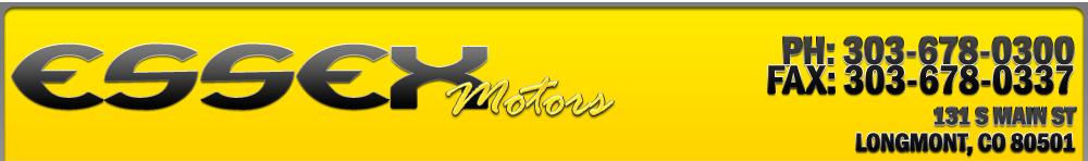 ESSEX MOTORS LLC - Longmont, CO