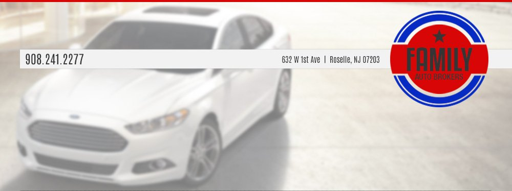 FAMILY AUTO BROKERS  - Roselle, NJ