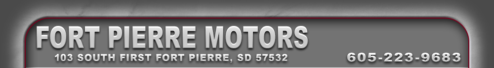 FORT PIERRE MOTORS - FORT PIERRE, SD