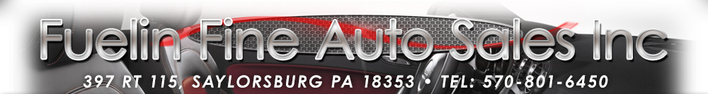 FUELIN FINE AUTO SALES INC - Pen Argyl, PA