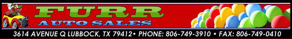 FURR AUTO SALES - Lubbock, TX