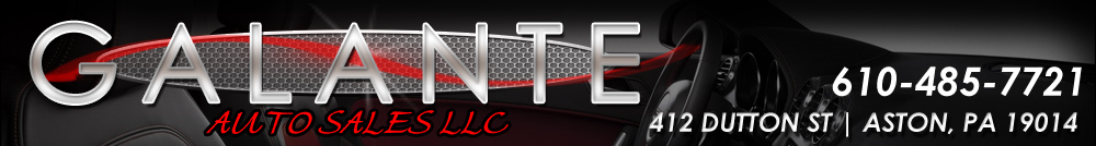 GALANTE AUTO SALES LLC - Aston, PA