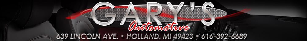 GARY'S AUTOMOTIVE - Holland, MI