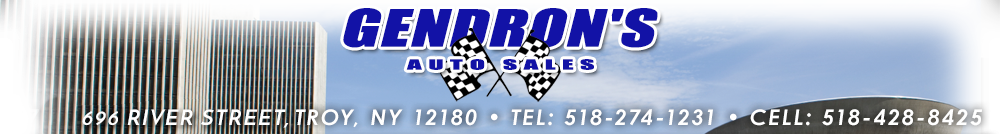 GENDRON'S AUTO SALES - Troy, NY