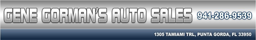 GENE GORMAN'S AUTO SALES - PUNTA GORDA, FL