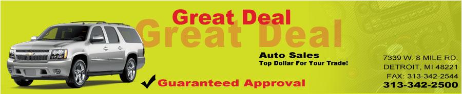 Great Deal Auto Sales #1 - Detroit, MI
