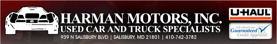 HARMAN MOTORS INC - Salisbury, MD
