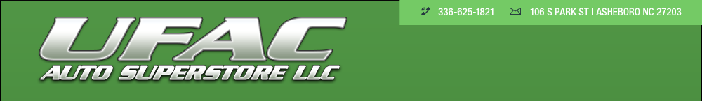 UFAC Auto Superstore LLC - Asheboro, NC