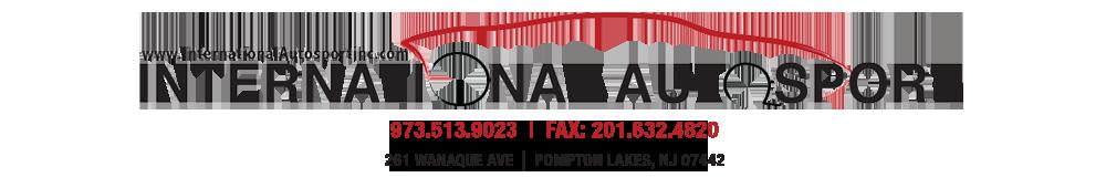 INTERNATIONAL AUTOSPORT INC - Pompton Lakes, NJ