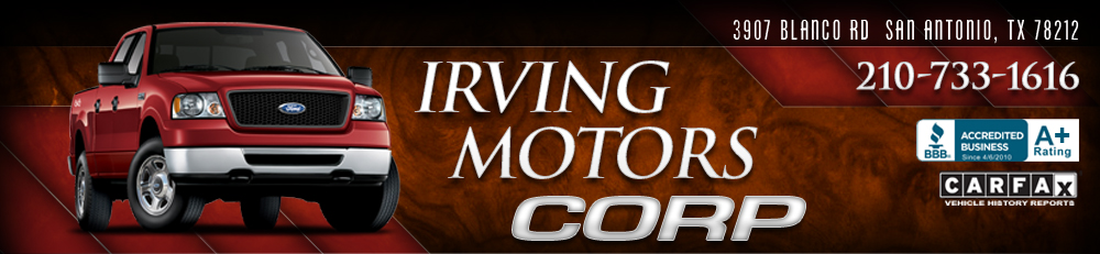 Irving Motors Corp - San Antonio, TX
