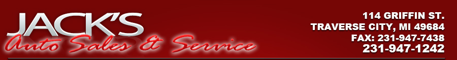 JACK'S AUTO SALES & SERVICE - TRAVERSE CITY, MI
