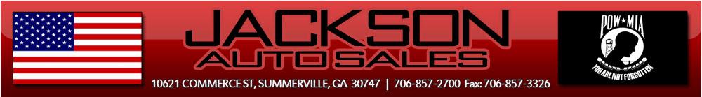 JACKSON AUTO SALES - Summerville, GA