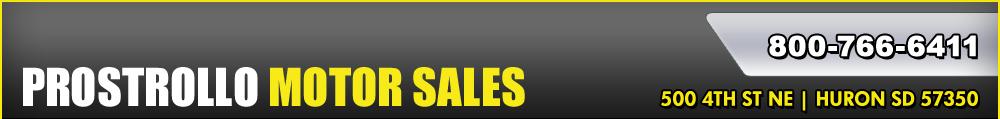 Prostrollo Motor Sales - Huron, SD