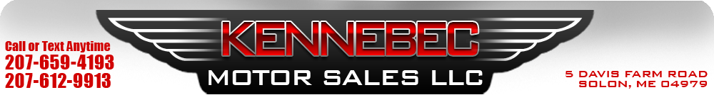 KENNEBEC MOTOR SALES LLC - Solon, ME