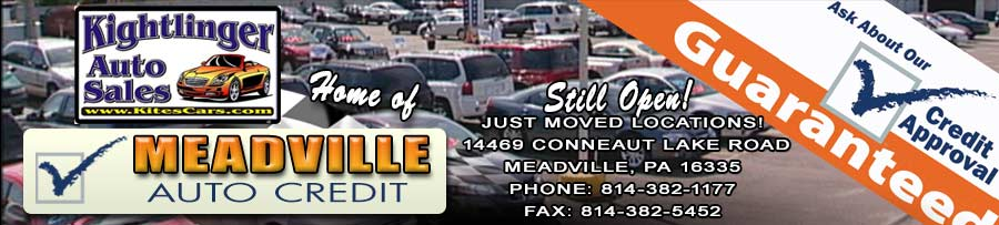 Kightlinger Auto Sales, Inc - Meadville, PA