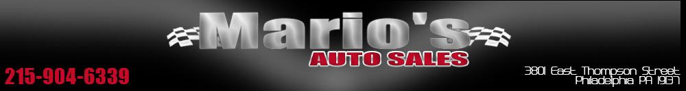 Mario's Auto Sales - Philadelphia, PA