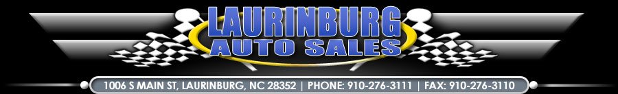 LAURINBURG AUTO SALES - Laurinburg, NC