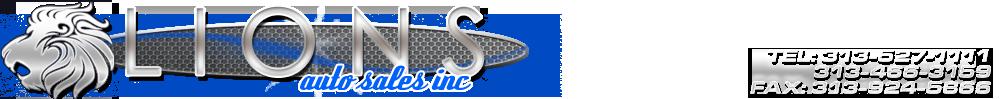 Lions Auto Sales Inc - Detroit, MI
