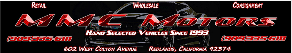 MMC MOTORS - Redlands, CA