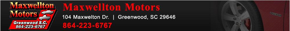 MAXWELLTON MOTORS - Greenwood, SC