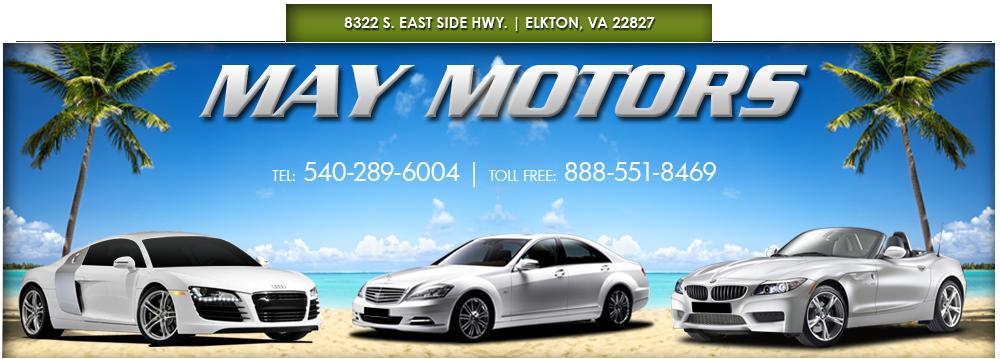 MAY MOTORS - Elkton, VA