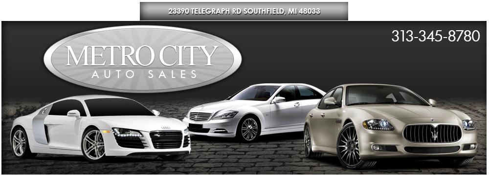 METRO CITY AUTO SALES - Detroit, MI