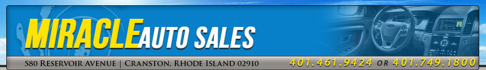 MIRACLE AUTO SALES - CRANSTON, RI