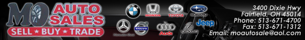 Mo Auto Sales - Fairfield, OH