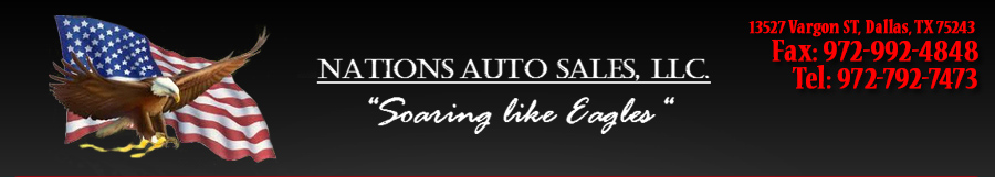 NATIONS AUTO SALES - Dallas, TX