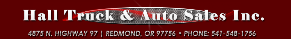 Hall Truck & Auto Sales Inc. - Redmond, OR