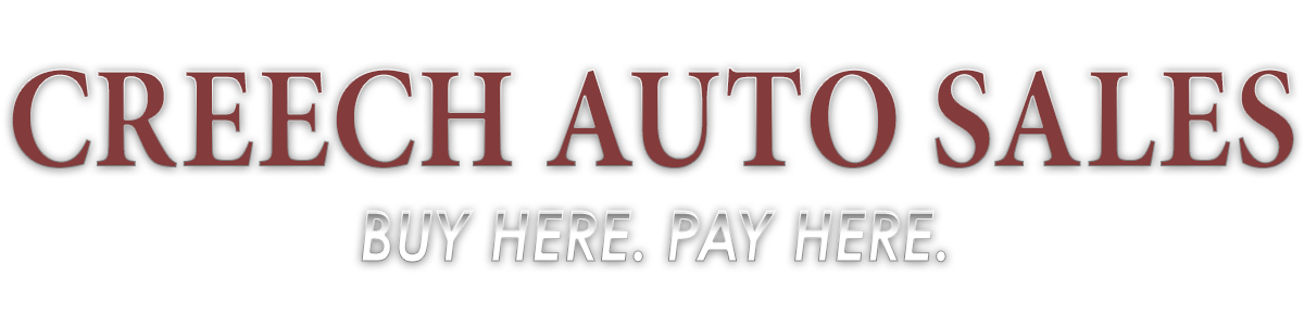 Creech Auto Sales - By Here. Pay Here.