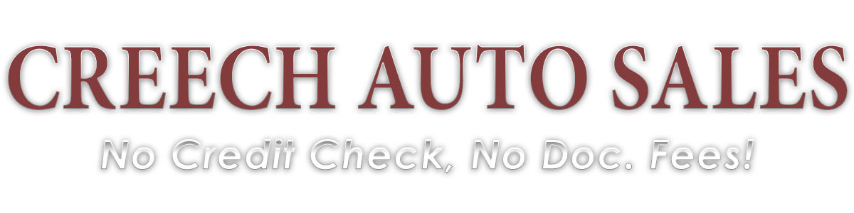 Creech Auto Sales - No credit check, no doc fees!