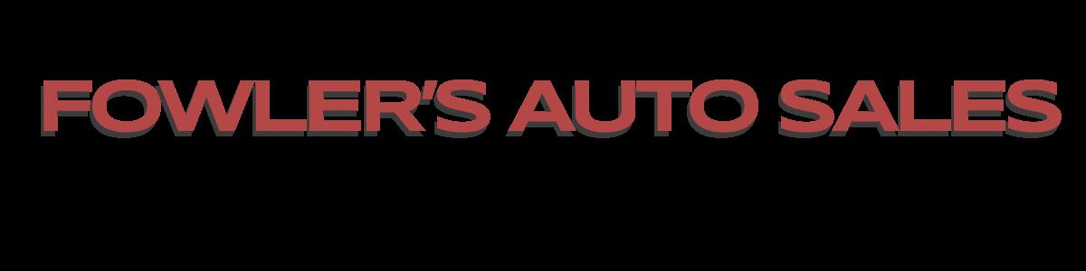 Fowler's Auto Sales